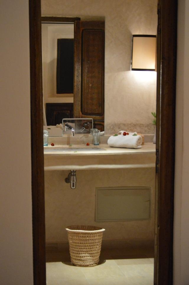 The bathroom was beautiful